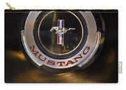 1965 Shelby Prototype Ford Mustang Emblem 2 Carry-all Pouch