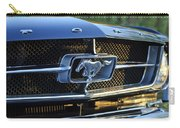 1965 Shelby Prototype Ford Mustang Grille Emblem Carry-all Pouch