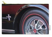 1965 Shelby Prototype Ford Mustang Wheel And Emblem Carry-all Pouch