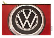 1965 Volkswagen Vw Karmann Ghia Emblem Carry-all Pouch