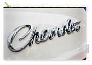 1966 Chevrolet Biscayne Emblem -0101c Carry-all Pouch