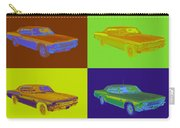 1966 Chevrolet Caprice 427 Muscle Car Pop Art Carry-all Pouch