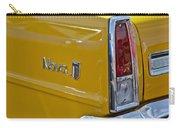 1966 Chevrolet Nova Taillight Emblem Carry-all Pouch