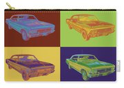 1966 Chevy Chevelle Ss 396 Car Pop Art Carry-all Pouch