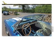 1966 Convertible Mustang On Tour In The Cotswolds Carry-all Pouch