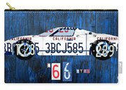 1966 Ford Gt40 License Plate Art By Design Turnpike Carry-all Pouch