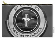 1966 Ford Mustang Shelby Gt 350 Emblem Gas Cap -0295bw Carry-all Pouch