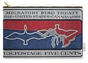 1966 Migratory Bird Treaty Stamp Carry-all Pouch