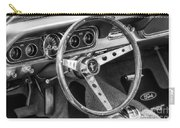 1966 Mustang Dashboard Bw Carry-all Pouch