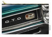 1966 Pontiac Gto Carry-all Pouch