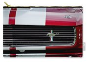 1966 Shelby Cobra Gt 350 Grille Emblem Carry-all Pouch