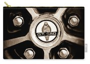 1966 Shelby Cobra Gt350 Wheel Rim Emblem Carry-all Pouch