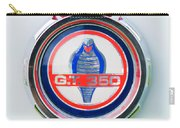 1966 Shelby Gt 350 Emblem Carry-all Pouch