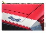 1967 Chevrolet Camaro Ss 350 Convertible Hood Emblem Carry-all Pouch
