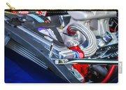 1967 Chevrolet Camaro Ss 350 Engine - Hood Emblem  Carry-all Pouch