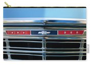 1967 Chevrolet Chevelle Malibu Grille Emblem Carry-all Pouch