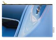 1967 Chevrolet Corvette 427 Hood Emblem 3 Carry-all Pouch