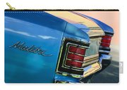 1967 Chevrolet Malibu Taillight Emblem Carry-all Pouch