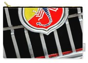 1967 Fiat Abarth 1000 Otr Emblem Carry-all Pouch