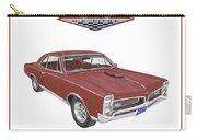 1967 G T O Pontiac Carry-all Pouch