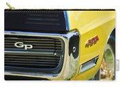 1967 Pontiac Hurst Grand Prix Convertible Grille Emblem -3569c Carry-all Pouch