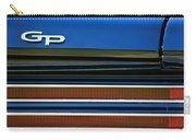1967 Pontiac Hurst Grand Prix Convertible Taillight Emblem -3584c Carry-all Pouch