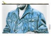 1968 Blue Denim Suit Carry-all Pouch