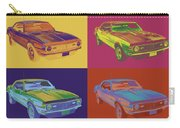 1968 Chevrolet Camaro 327 Muscle Car Pop Art Carry-all Pouch