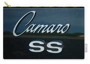 1968 Chevy Camaro Ss Logo Carry-all Pouch
