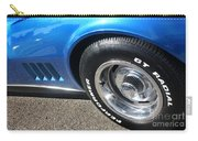 1968 Corvette Sting Ray - Blue - Side - 8923 Carry-all Pouch
