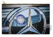 1968 Mercedes-benz 280 Sl Roadster Emblem -0919c Carry-all Pouch
