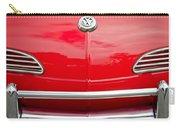 1968 Volkswagen Karmann Ghia Convertible Hood Emblem Carry-all Pouch