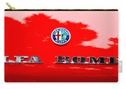 1969 Alfa Romeo Spider Veloce Iniezione Emblem Carry-all Pouch