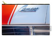1969 Chevrolet Camaro Rs-ss Indy Pace Car Replica Hood Emblem Carry-all Pouch