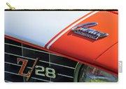 1969 Chevrolet Camaro Z-28 Emblem Carry-all Pouch