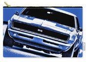 1969 Chevy Camaro Ss - Blue Carry-all Pouch