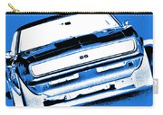 1969 Chevy Camaro Ss - Blue Negative Carry-all Pouch