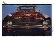 1969 Chevy Nova Ss - The Sleeper Awakes Carry-all Pouch
