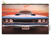 1969 Dodge Coronet R/t In B5 Blue Carry-all Pouch