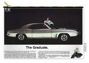 1969 Pontiac Firebird 400 - The Graduate Carry-all Pouch