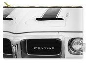 1969 Pontiac Trans Am Grille Emblem Carry-all Pouch