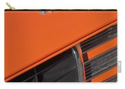 1969 Rs-ss Chevrolet Camaro Grille Emblem Carry-all Pouch