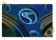 1969 Shelby Gt500 Convertible 428 Cobra Jet Steering Wheel Emblem Carry-all Pouch