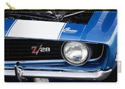 1969 Z28 Camaro Real Muscle Car Carry-all Pouch