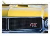 1970 Buick Gs Grille Emblem Carry-all Pouch