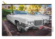 1970 Cadillac Coupe Deville Convertible Painted  Carry-all Pouch