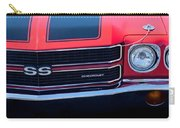 1970 Chevrolet El Camino Ss Grille Emblem Carry-all Pouch