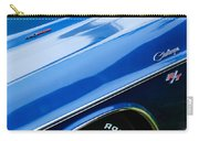 1970 Dodge Challenger Rt Convertible Emblems Carry-all Pouch