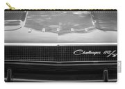 1970 Dodge Challenger Rt Convertible Grille Emblem -0545bw Carry-all Pouch