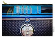 1970 Ford Mustang Gt Mach 1 Emblem Carry-all Pouch